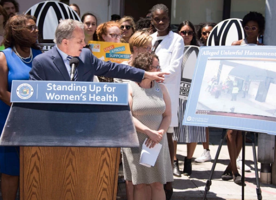 NY Attorney General To Work On Law To Stop Harassment of Women's Health Clinic Patients