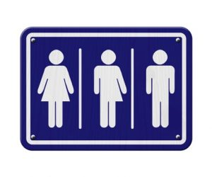 LGBTQ bathroom signage