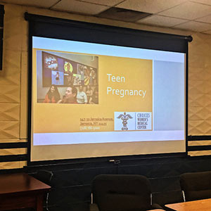 Choices Women's Medical Center had the opportunity to present a workshop about teen pregnancy to Girl's Talk, a mentoring group for girls ages 13 to 17 living in Jamaica, Queens