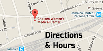 Link to Directions and hours at Choices Women's Medical Center