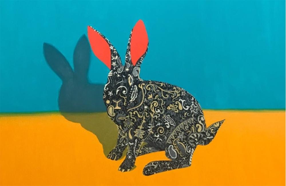 Rabbit Artwork by Susan Varo