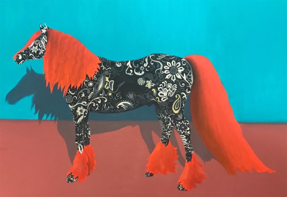 Horse Artwork by Susan Varo