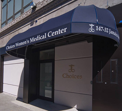 Choices Women's Medical Center Awning